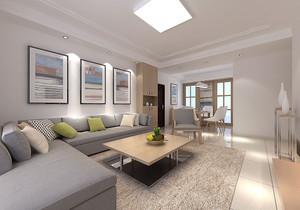 80平北欧风格客厅装修效果图大全