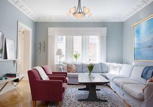 80平北欧风格装修客厅效果图