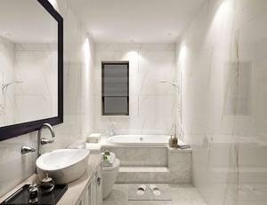 長方形衛生間裝修如何設計圖