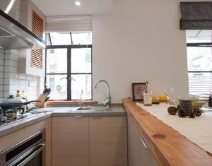 4平方開放式廚房裝修效果圖