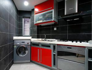 現代4一6平方廚房裝修效果圖