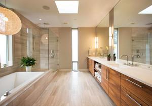 小長方形衛生間帶兩個蹲位設計圖