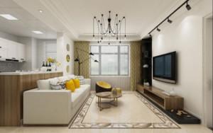 40平米單身公寓多窗戶裝修效果圖大全