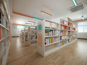 儿童主题图书馆装修效果图