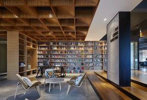 家庭图书馆如何装修效果图