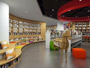 亲子图书馆装修效果图