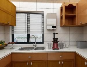 簡約中式風格廚房裝修效果圖