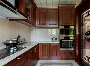 豪華中式廚房裝修效果圖大全