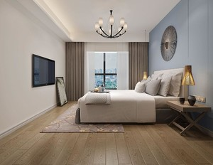 90平米兩室一廳現代簡約裝修效果圖大全