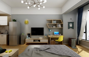 一居室50平米小戶型裝修效果圖