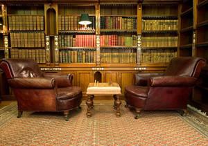 古典图书馆装修效果图