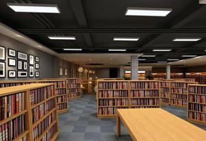 天台图书馆装修效果图