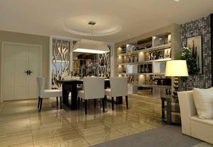 家裝客廳酒架設計效果圖