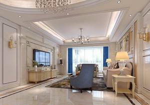 簡歐家裝客廳設計效果圖