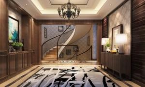 復式別墅客廳餐廳設計效果圖大全
