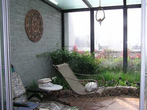 阳台绿化设计效果图 - 齐装网装修效果图