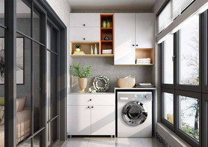 陽臺洗衣機圖片