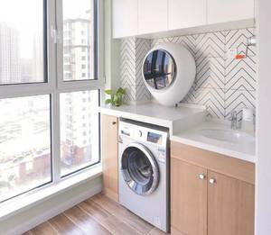 洗衣機陽臺裝修效果圖