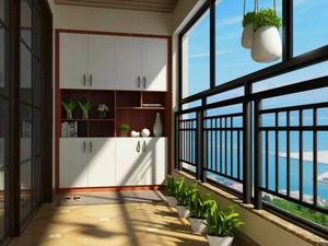 阳台改入户门效果图图片