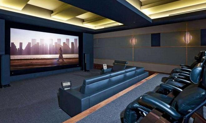 私人家庭影院的裝修設計效果圖