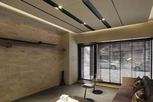 500平米简约风格健身房吊顶装修效果图