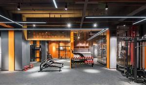 700平米都市风格健身房吊顶装修效果图