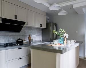 120平方三居室宜家风格厨房岛台效果图