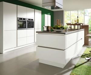 160平方大户型后现代风格厨房岛台效果图