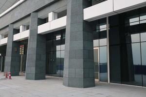 1600平写字楼玻璃幕墙片装修效果图