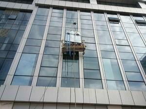 2000平写字楼玻璃幕墙片装修效果图