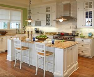201平米大户型北欧风格厨房吧台台面装修效果图