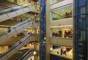 多层简约时尚风格百货商场装修效果图