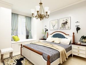 12平方房间欧式田园风格装修效果图