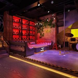 110平米中式酒馆装修效果图