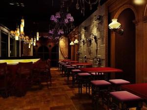160平米中式酒馆装修效果图