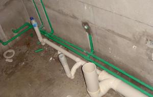厨房排水管安装规范图