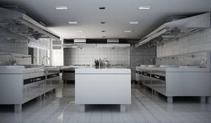 酒店厨房平面设计图