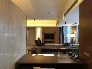 350平米现代风格总统套房装修效果图