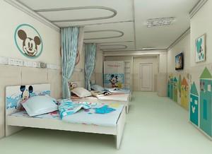 70平儿童医院病房装修效果图