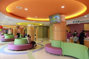 300平儿童医院大厅装修效果图