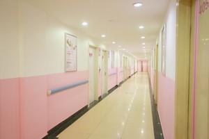 3000平合肥医院走廊装修效果图