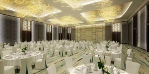 600平现代轻奢风格酒店隔断装修效果图