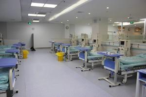 80平简约风格医院科室装修效果图