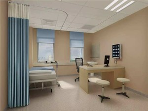 50平医院科室装修效果图