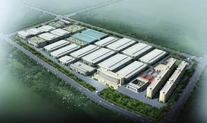 15000平工厂布局设计效果图