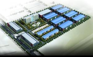 7000平工厂布局设计效果图