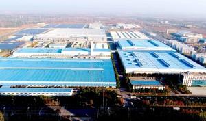 8000平工厂布局设计效果图