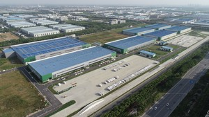 12000平工厂布局设计效果图