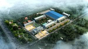 1800平工厂布局设计效果图