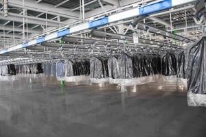 1200平工厂车间装修效果图